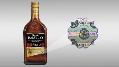 Rótulo Ron Barceló