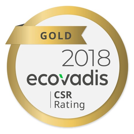 EcoVadis Gold Medal