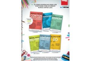 6 livros de autores portugueses