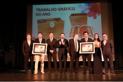 Omdesign e Norprint premiadas pelo Trabalho Gráfico do Ano