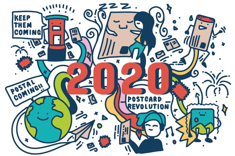 World Postcard Day Official Postcard 2020